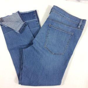 Ann Taylor The Skinny Modern Fit jean released hem